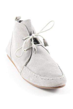 Flip*flop Schnürschuhe grau schlichter Stil
