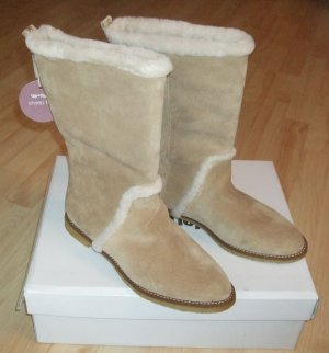 Flip*flop Winter Boots sand brown leather