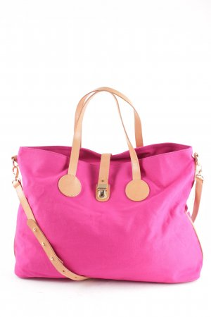 Flip*flop Canvas Bag pink-nude beach look