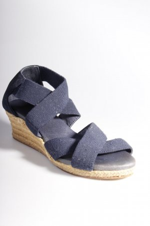 Flip*Flop Wedges dunkelblau