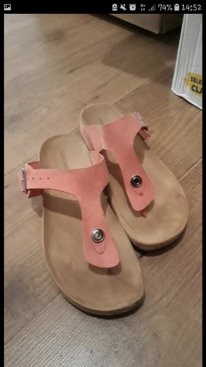 Deichmann Flip-Flop Sandals pink