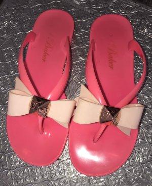 Flip Flops in Pink von Ted Baker
