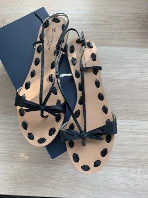Flip flops promod schwarzes satinband