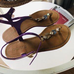 Guess Flip-Flop Sandals lilac