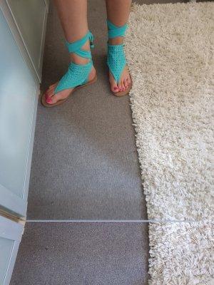 3 Suisses Sandalo infradito turchese