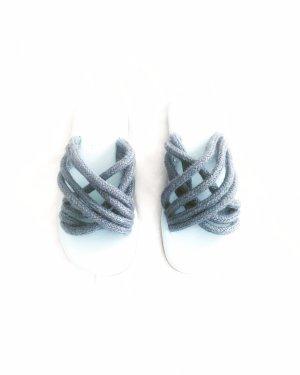 flipflops • latschen • vintage • blau • bohostyle