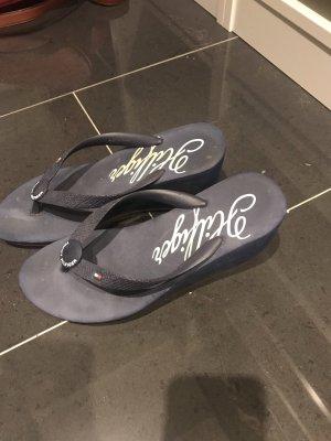 Tommy Hilfiger Flip-Flop Sandals dark blue