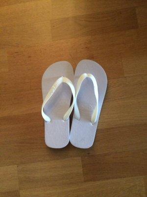 100 Flip flop sandalen wit