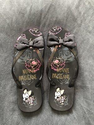 Flip-Flop Sandals black-pink
