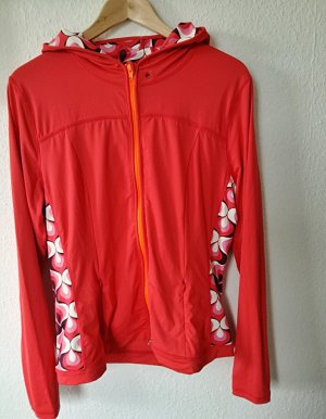 Boden Sweat à capuche rouge clair polyamide