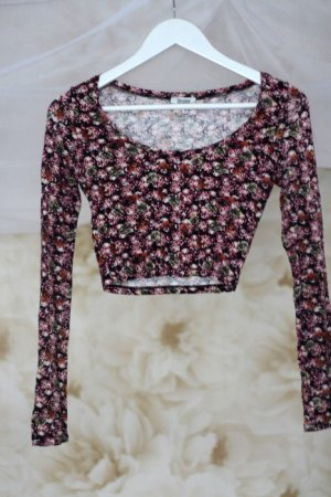Floral Bauchfreies Crop Top