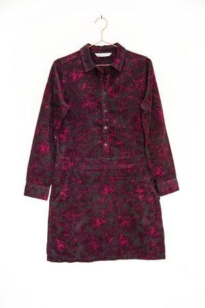 floral gemustertes Hemdkleid aus Babycord / Crew Clothing