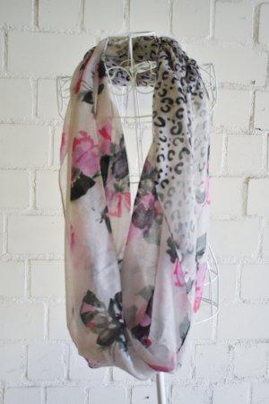 Floral Loop Schal Tuch