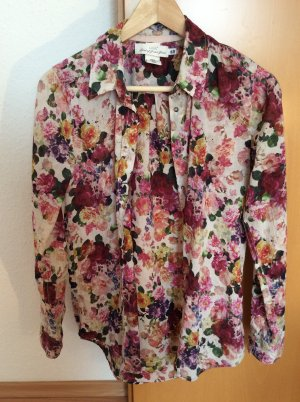 Florale Hemdbluse H&M 36