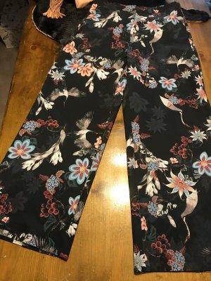 Florale Hose von H&M Größe 42 culottes