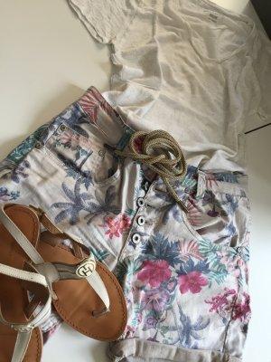 Florale Hot Pants