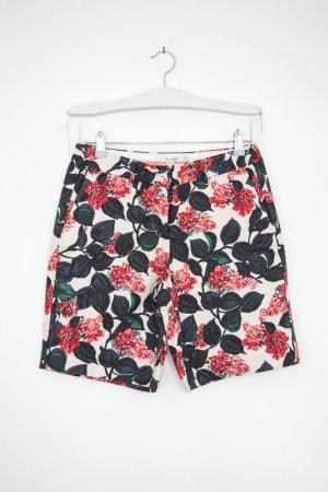 florale Shorts aus Baumwolle