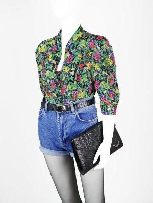 Florale Vintage Bluse aus Chiffon