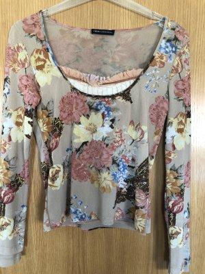 Florales Shirt Gr 38