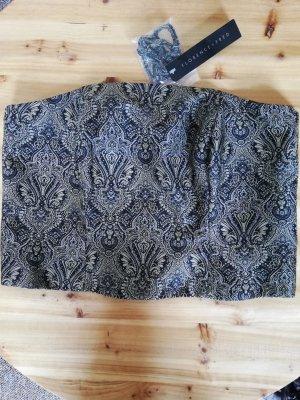 Florence & Fred Corsage Korsage Top Oberteil Brokat gothic Gr. UK 16 EUR 44 101 cm/ 40 in neu