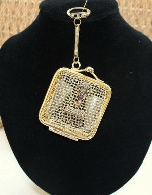 American Vintage Key Chain gold-colored metal