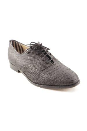 Floris van Bommel Zapatos Budapest negro estilo «business»