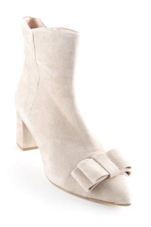 Floris van Bommel Reißverschluss-Stiefeletten creme Elegant