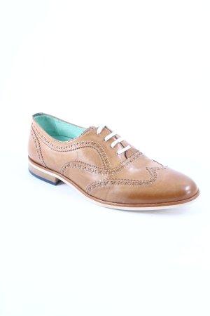Floris van Bommel Chaussures à lacets marron clair style décontracté