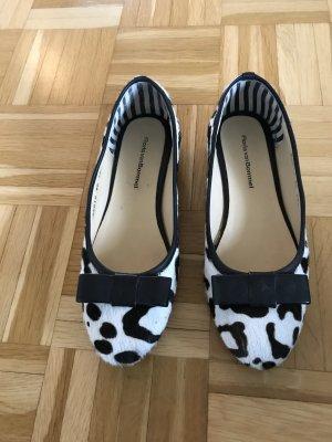 Floris van Bommel Schuhe mit Fell