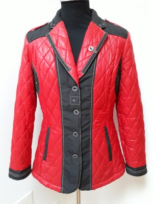 Sportalm Quilted Jacket red polyester