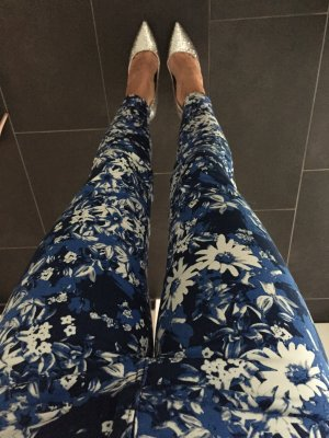#flower #alloverprint #hose #blau #27 #S #cubus