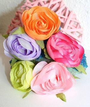 Flower Großer Haargummi Haarschmuck Blume