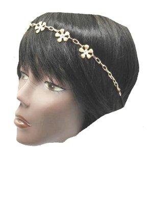 Haarband goud Metaal