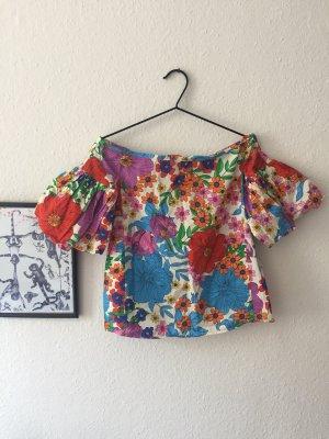 Flower Power Carmen Shirt