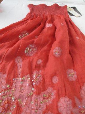 Flower Power Kleid mit Pailletten