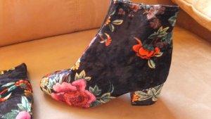 Flower Power Stieflette Leder