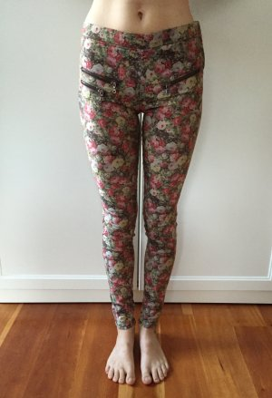 Flower Print Jeggings