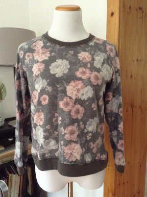 Flower-Print Sweater | Mango | EUR M