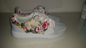 Flower Sneaker weiß !!