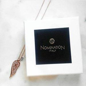 Flügel Kette Halskette in Gold von Nomination - nagelneu!