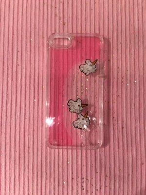 Flüssige Handyhülle im Einhorndesign für IPhone 5