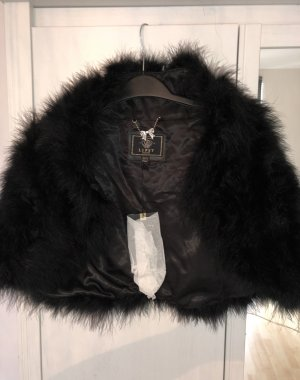 Fluffy Feather Cape Vintage