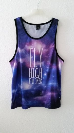 """Fly High Fuckr"" Galaxy Top"