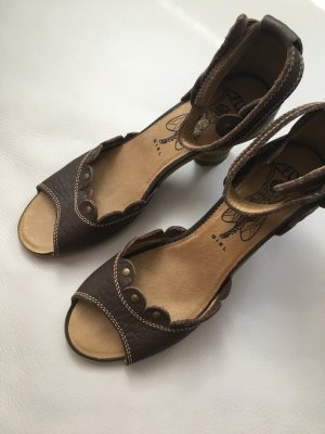 FLY LONDON Polly, Peeptoe Pumps, Sandalen, Sandaletten Gr. 40, UK 7, NEU und ungetragen!