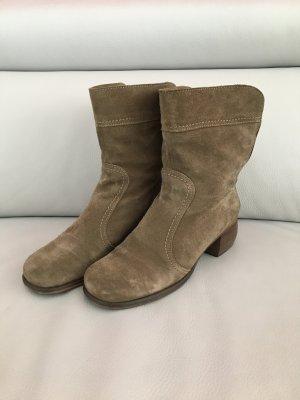 FLY LONDON Stiefel, Boots, Gr. 40, braun beige, guter Zustand