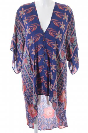 Flynn Skye Kimono-Bluse florales Muster Beach-Look