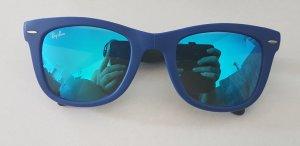 Folding Ray Ban Wayfarer Sonnenbrille (blau)
