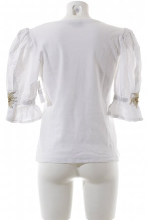 Folk Line Traditional Blouse white country style