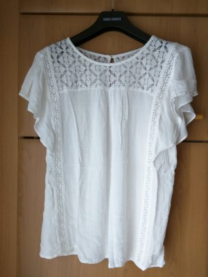 Folklore Hippie Shirt in Creme