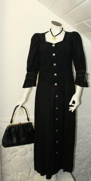 Folklore Trachten Kleid schwarz